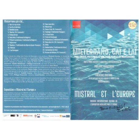 Mieterrano, çaï e laï : Paix, liberté, fraternité et joie en Méditerranée (DVD)