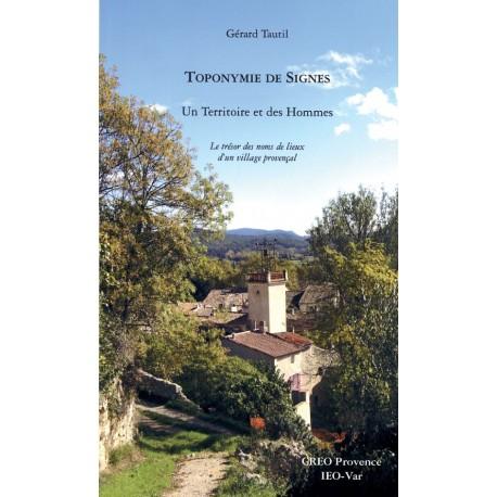 Toponymie de Signes - Gérard Tautil - Couverture du livre