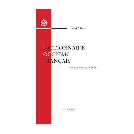 Dictionnaire Occitan Français selon les parlers languedociens - Louis Alibert - Cobertura