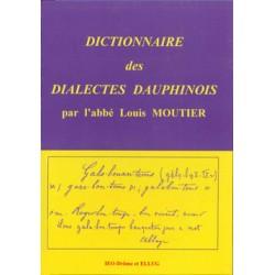 Dictionnaire des dialectes Dauphinois - Abbé Louis Moutier - Cover