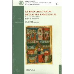 Le Breviari d'amor de Matfre Ermengaud - Tome IV (16783T–27252)