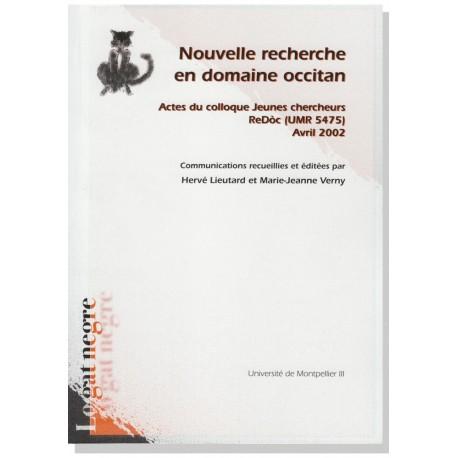 Nouvelle recherche en domaine occitan - Hervé Lieutard et Marie-Jeanne Verny