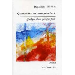 Benedicta BONNET - Quauquaren en quauqu'un luec - Quelque chose quelque part