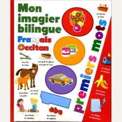 Mon imagier bilingue français-occcitan - Premiers mots