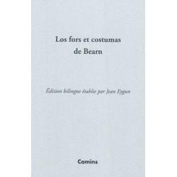 Los fors et costumas de Bearn - Jean Eygun