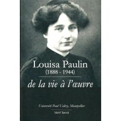 Louisa Paulin de la vie à l'oeuvre