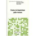 Études de linguistique gallo-romane - Collectif