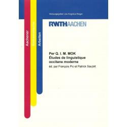 Per Q. I. M. MOK - Études de linguistique occitane moderne