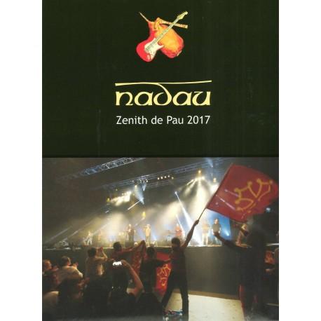 DVD Zenith de Pau 2017 - Nadau (live) - Cover