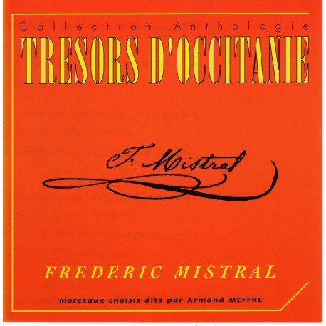 Trésor d'Occitanie - Frédéric Mistral (CD)