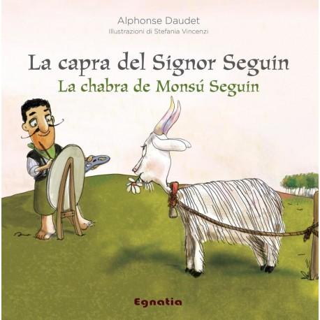 La chabra de Monsù Seguin - La capra del signor Seguin - Alphonse Daudet - Couverture