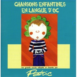 Chansons enfantines en langue d'oc - Patric - CD