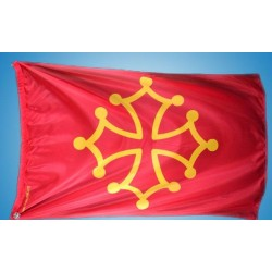 Drapeu Occitan / Bandiera occitana 80x120 cm