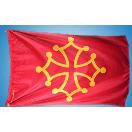 Bandiera Occitana 80x120 cm - Macarel
