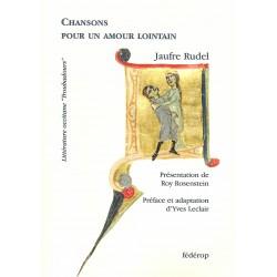 Chansons pour un amour lointain - Jaufre Rudel - Couverture