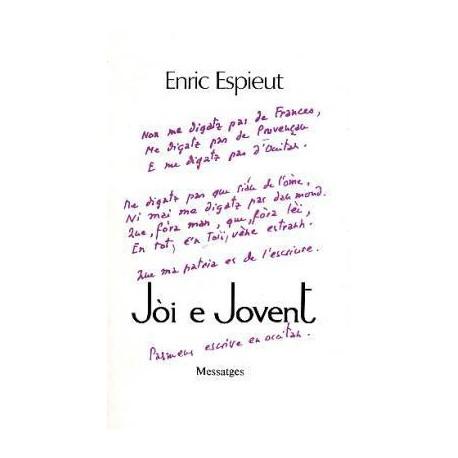 Jòi e Jovent - Enric Espieut - Couverture
