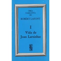 Vida de Joan Larsinhac - Robert Lafont - Cover