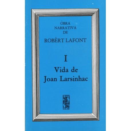 Vida de Joan Larsinhac (ATS 39) - Robert Lafont - Couverture