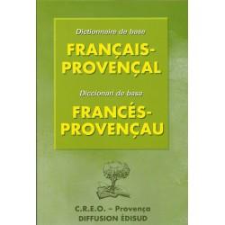 Dictionnaire de base Français Provençal - E. Lebre, G.Martin, B. Moulin - Couverture