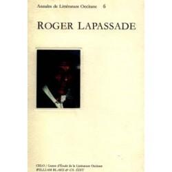 Roger Lapassade - Annales de Littérature Occitane (6)