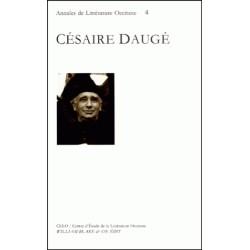 Césaire Daugé - Annales de Littérature Occitane (4)