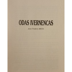 Odas Ivernencas - Joan Frederic Brun