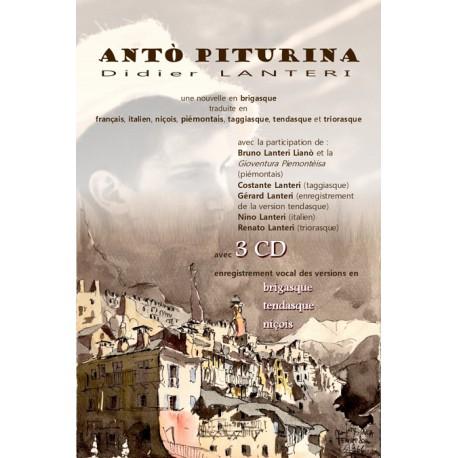 Antò piturina, (inclus 3 CD) - Lanteri Didier