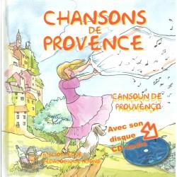 Chansons de Provence - Cansoun de Prouvènço (Livre CD)