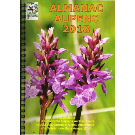 Almanac 2018 - Calandreta Gapiana Andrieu Faure (Gap) - Cover