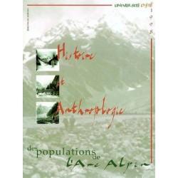 Histoire et Anthropologie des populations de l'Arc Alpin - Université d'Aix-Marseille II