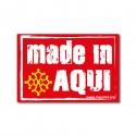 Autocollant Made in Aqui (croix oc)