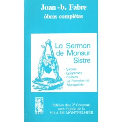 Lo sermon de Monsur Sistre - Joan-Batista Fabre - ATS 80