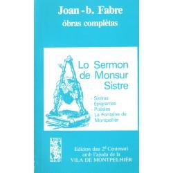 Lo Sermon de Monsur Sistre - Joan-b. Fabre - ATS 80