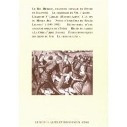 Le Monde Alpin et Rhodanien, revue régionale d'ethnologie. 2001.