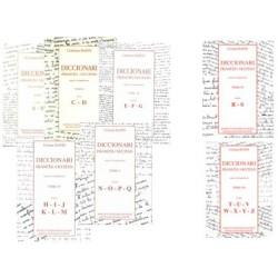 Diccionari Francès/Occitan, segon lo lengadocian TÒMES I à VII - Rapin Christian