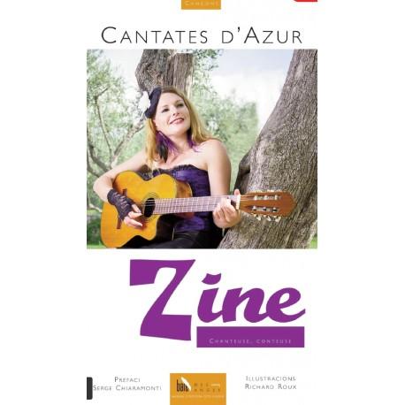 Cantates d'Azur - Zine - Recueil de chansons bilingues (Baie des Anges)