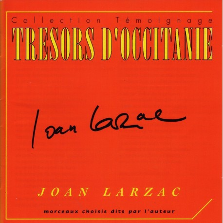 Joan Larzac - Trésors d'Occitanie (CD)