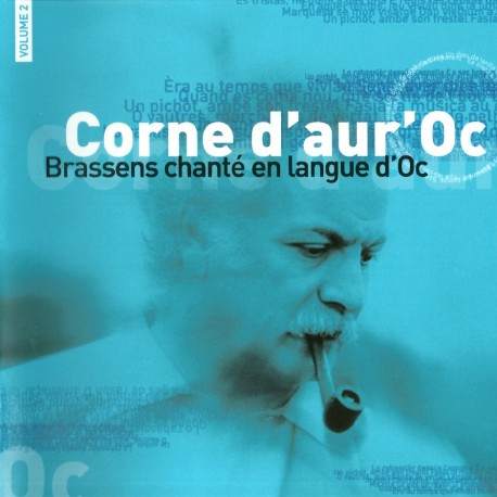 Corne d'aur'Oc - Brassens sung in langue d'Oc - Volume 2 - Philippe Carcassés (CD)