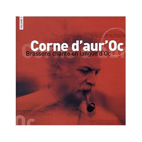 Corne d'aur'Oc - Brassens sung in langue d'Oc - Volume 3 - Philippe Carcassés (CD)
