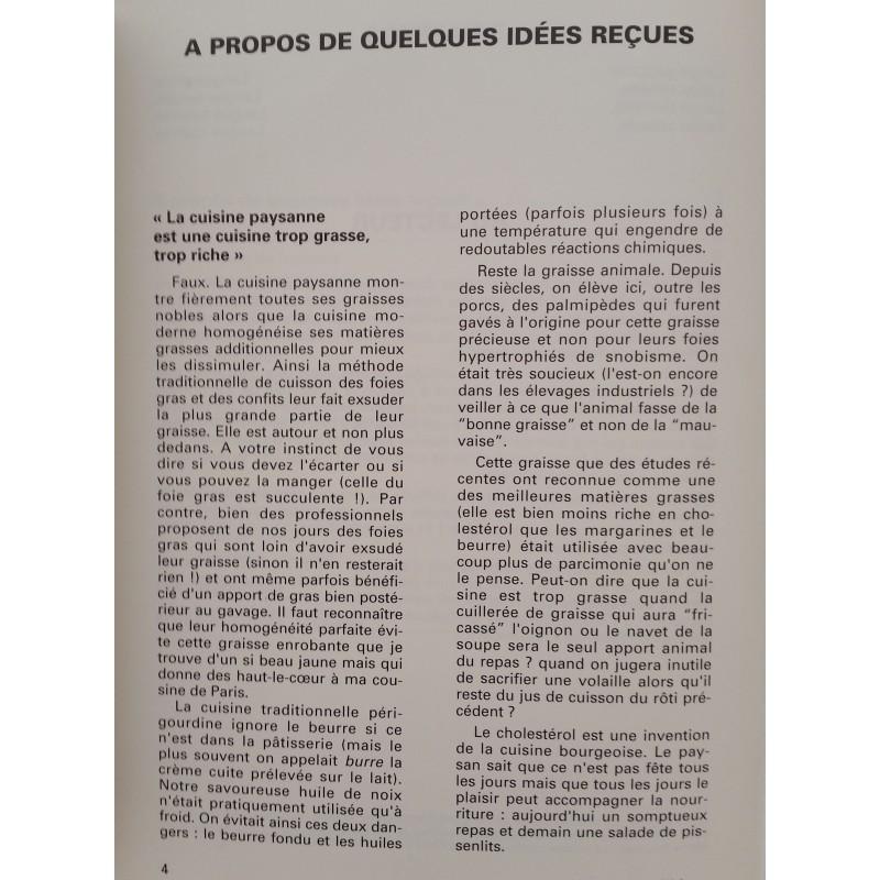 Cuisine paysanne en Périgord Micheu Chapduelh Livre de