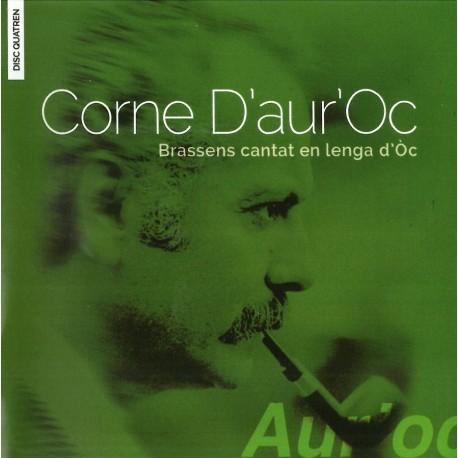 Corne d'aur'Oc - Brassens chanté en langue d'Oc - Volume 4 - Philippe Carcassés (CD)