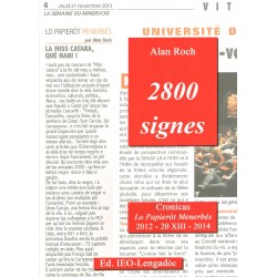 2800 signes - Alan Roch (IEO-Lengadòc)
