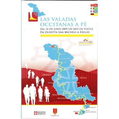 Las valadas occitanas a pè - Dal 14 de junh 2009 un mes en viatge da Olivetta San Michele a Exilles - Chambra d'Òc