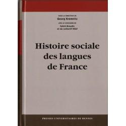 Histoire sociale des langues de France - Georg Kremnitz