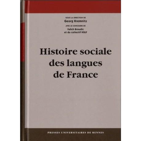 Histoire sociale des langues de france - Georg Kremnitz - PU Rennes