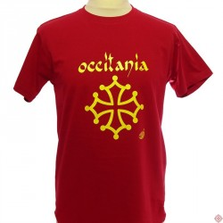 T-shirt Occitània calligraphie (homme)