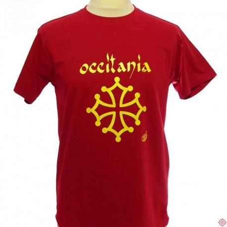 T-shirt Occitània calligraphie (man)