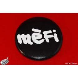 "Badge d'espinglar ""mèfi"""