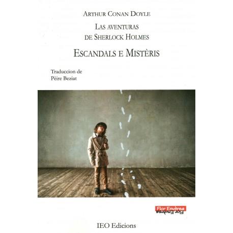 Escandals e Mistèris - Les aventures de Sherlock Holmes - Arthur CONAN DOYLE - Pèire Beziat - Couverture