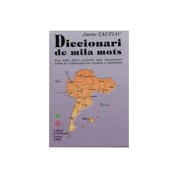 Diccionari de mila mots - Jacme Taupiac